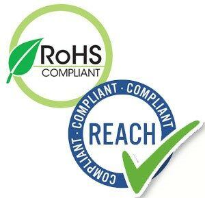 We always ensure compliance to RoHS and REACH directives.